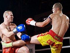 Gazdík se stává potřetí mistrem Česka v thajském boxu.