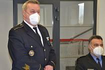 Rozloučení s ředitelem třinecké městské policie Josefem Kuźmou.