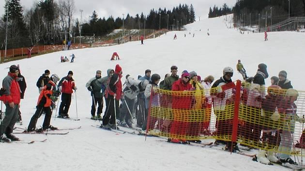 Ski areál Mosty u Jablunkova. Ilustrační foto.