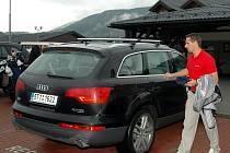 Roman Šebrle si zahrál golf na Čeladné
