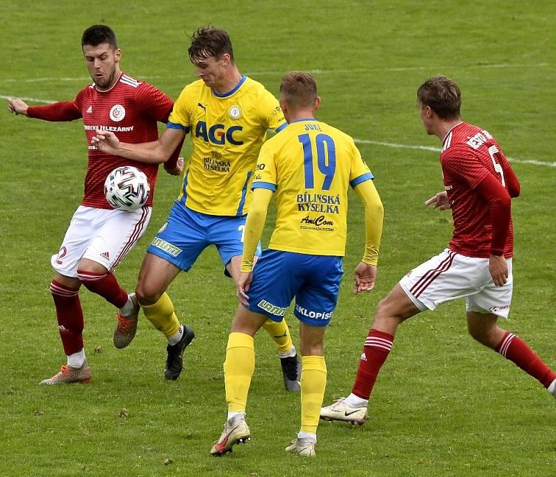 Třinec v MOL Cupu končí, nestačil na Teplice.