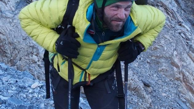 Horolezec Libor Uher.