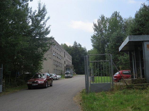 Bývalý vojenský objekt ve Frýdku-Místku.