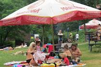 Beskydské hudební léto pokračovalo v sobotu 25. července další akcí v areálu koupaliště Sluníčko v Ostravici.
