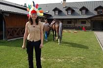 Aneta Tribulová. Z vysoké odešla ke koním.