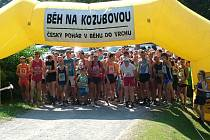 Ani úmorné vedro neodradilo 166 startujících v populárním závodě – Běhu na Kozubovou.