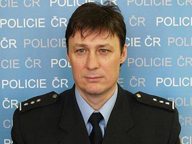 Policejní mluvčí Vlastimil Starzyk.