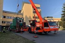 Odběrové místo už je i u nemocnice ve Frýdku-Místku.
