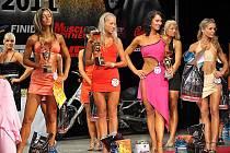Vítězkou kategorie fitness žen se stala 22letá Patricia Semanová (s číslem 78).
