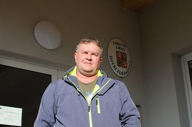 Starosta Dolních Tošanovic Pavel Blabla.