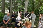 V neděli 6. června se konala slavnostní svěcení repliky dřevěného kostel v Gutech.