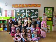 Žáci prvního ročníku z 5. ZŠ v Koperníkově ulici v Třinci.