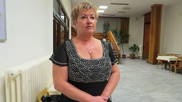 Jana Stanovská, ředitelka Oblastního spolku Českého červeného kříže ve Frýdku-Místku.