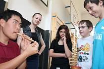 Akce v rámci školního projektu Edison.