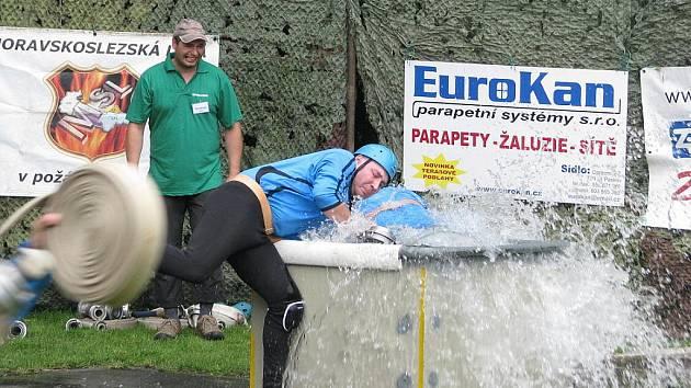 Sobota a neděle patřila v paskovské části Oprechtice hasičským soutěžím.
