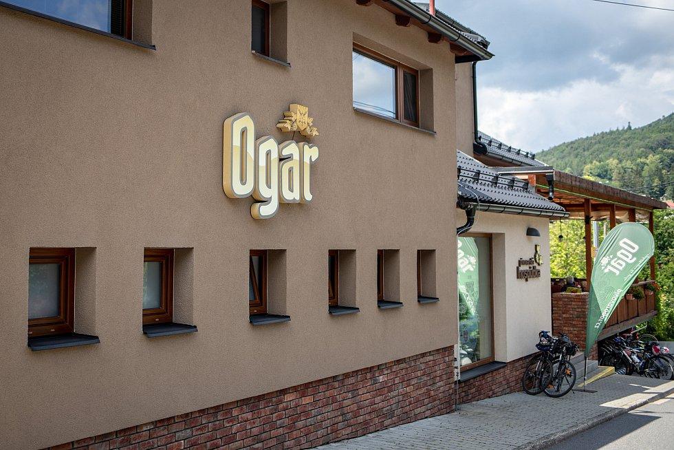 Pivovar Ogar v Kunčicích pod Ondřejníkem, 12. července 2020.