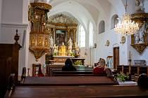 Noc kostelů 2020. Kostel sv. Jana Křtitele ve Frýdku, 12. června 2020.