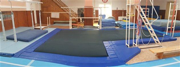 Gymnastické potřeby zFrýdlantu nad Ostravicí