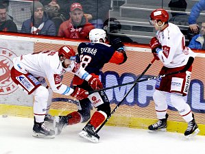Hokej: Třinec - Chomutov