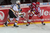 Deset branek, tři tyče, trestné střílení. To vše bylo k vidění ve včerejším utkání 28. kola hokejové extraligy mezi Třincem a vedoucím Litvínovem.