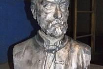 Nová busta Bedřicha Smetany.