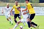Třinečtí fotbalisté na domácím trávníku prohráli s exligovými Budějovicemi 0:1.