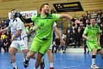 Brno 1.2.2020 - domácí SHC Maloměřice Brno (zelená) proti Pepino SKP Frýdek-Místek (bílá)