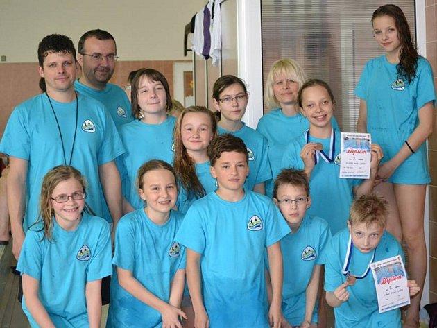 Plavci z Lašského sportovního klubu Frýdek-Místek se o víkendu zúčastnili dvou závodů, ve kterých se vůbec neztratili.