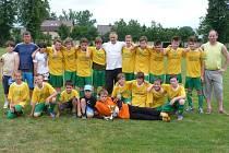 Vítězi okresního přeboru starších žáků se stali mladí fotbalisté TJ Tošanovice.