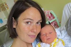 Zoe Matyščáková, Rožnov pod Radhoštěm, nar. 11.8., 49 cm, 3,18 kg. Nemocnice ve Frýdku-Místku.