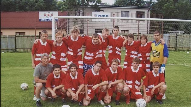Vítězný tým Sokola Hnojník.