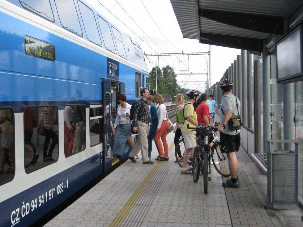 Vlaková zastávka Třinec - centrum
