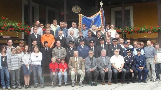 SDH Pstruží při šedesátém výročí založení sboru v roce 2008.