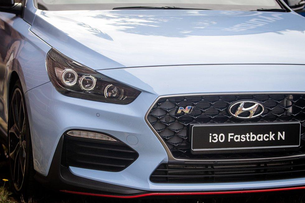 Festival FM City Fest, 12. července 2019 ve Frýdku-Místku. Na snímku Hyundai i30 Fastback N.