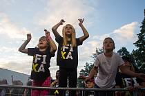 První den festivalu Ladná Čeladná se konal 6. srpna 2021.