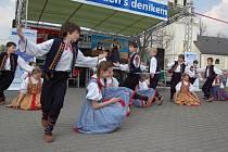 Ostravička během vystoupení na Dni s Deníkem ve Frýdlantu nad Ostravicí.