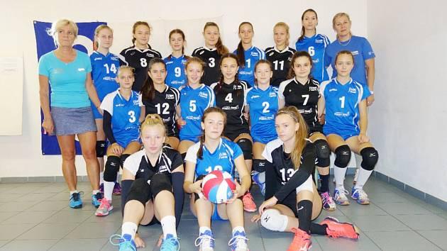 Svěřenkyně trenérek Dany Górecké a Hany Kurillové.