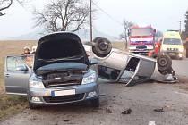 Nehoda v Metylovicích.