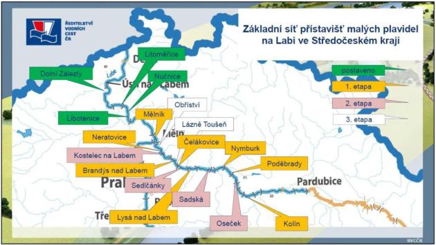 Středočeský kraj podporuje rozvoj říční plavby na území regionu