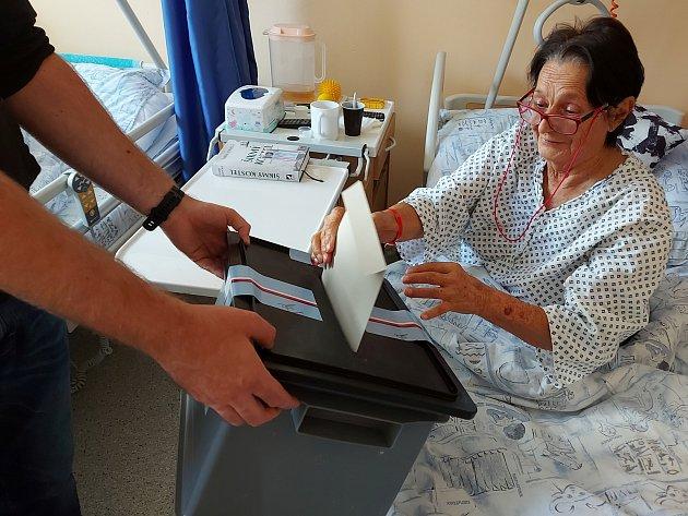 Ovolby měli zájem ipacienti třinecké nemocnice.
