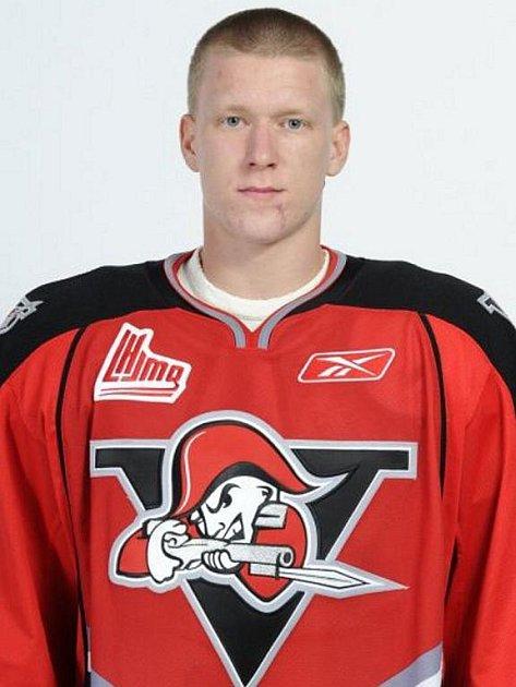 Frýdecko-místecký odchovanec v ledním hokeji nyní válí v Kanadě za tým Drummondville Voltigeurs hrající Quebeckou juniorskou ligu.