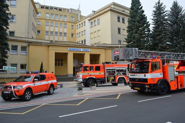Nemocnice Třinec nacvičovala evakuaci
