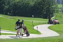 Ostravický golfový areál.