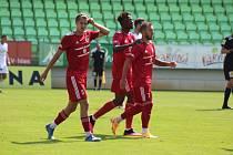 Třinečtí fotbalisté v přípravě poprvé vyhráli.