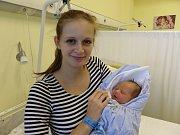 Tomáš Krzyžanek s maminkou, Návsí, nar. 17. 9, 48 cm, 3,23 kg, Nemocnice Třinec.