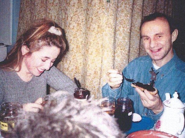 Karmen Lucenková a její manžel Nikolaj Lucenko.