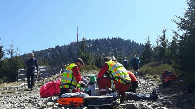 Záchranáři horské služby už muži nedokázali pomoci.
