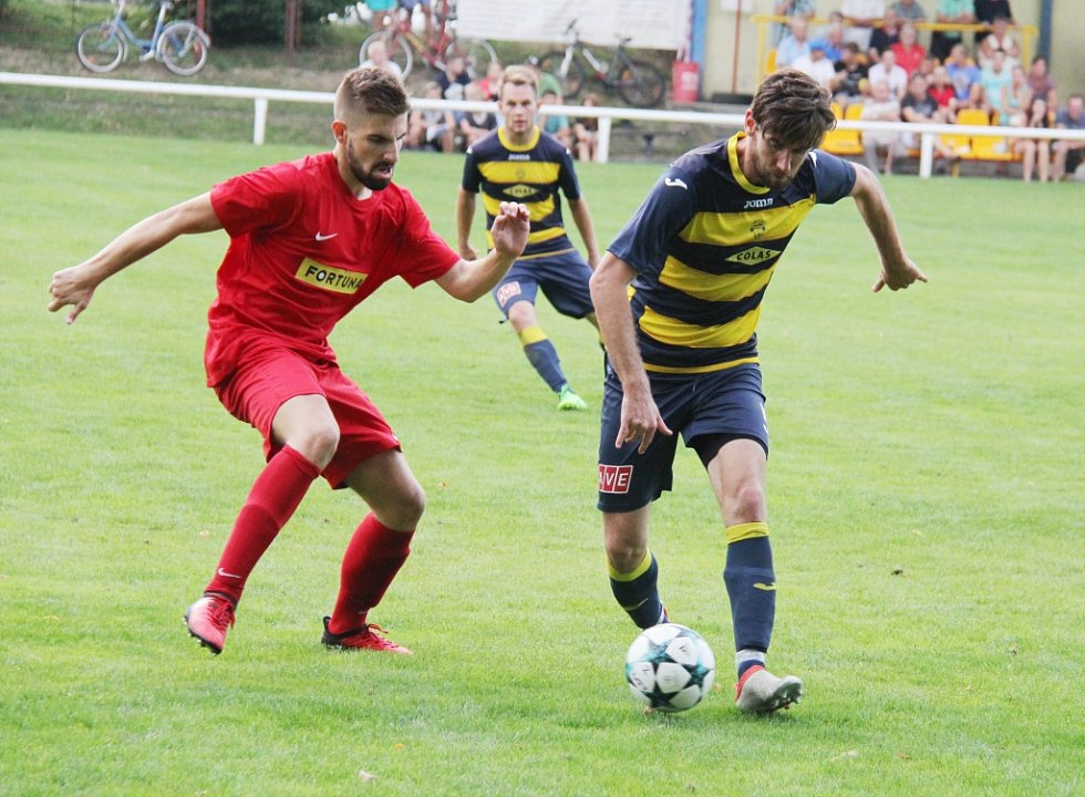 Fotbalisté Frýdlantu nestačili na nováčka z Bohumína.