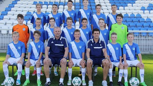 Fotbalisté MFK Frýdek-Místek U14.