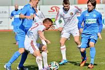 Fotbalisté Třince zdolali v důležitém domácím zápase Ústí nad Labem 3:1.